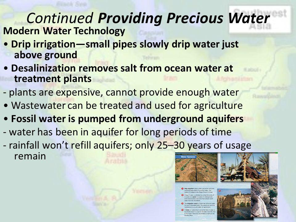 Continued Providing Precious Water