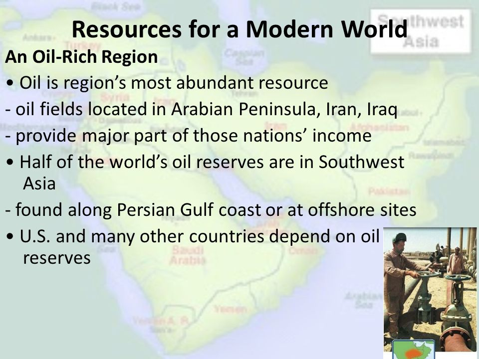 Resources for a Modern World