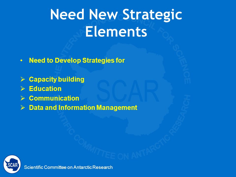 Need New Strategic Elements