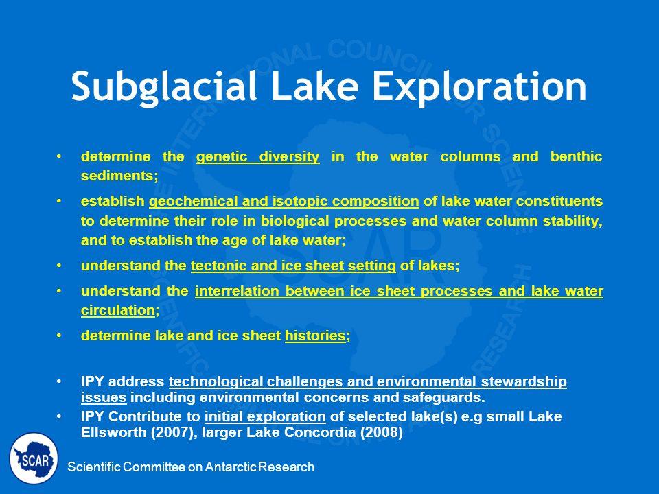 Subglacial Lake Exploration