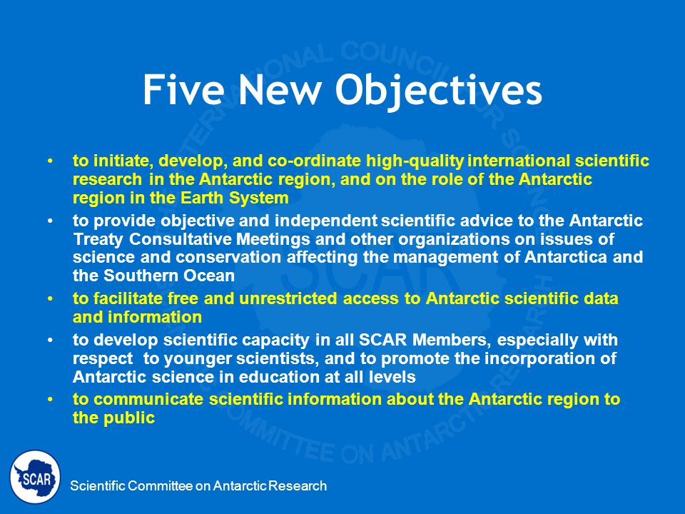 Five New Objectives