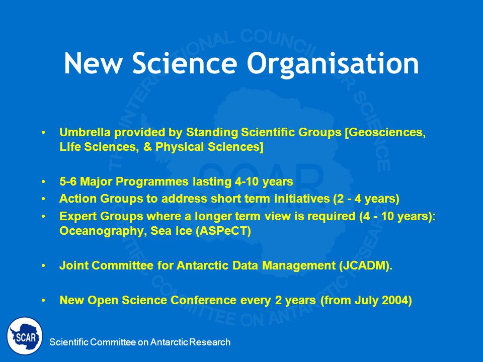 New Science Organisation