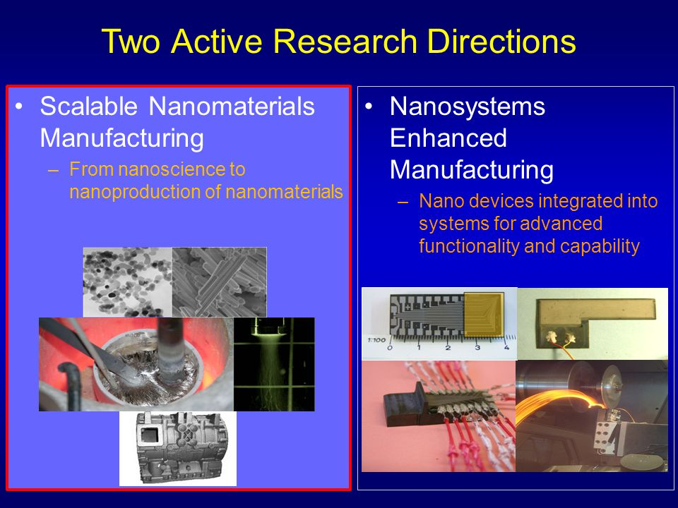 Two Active Research Directions