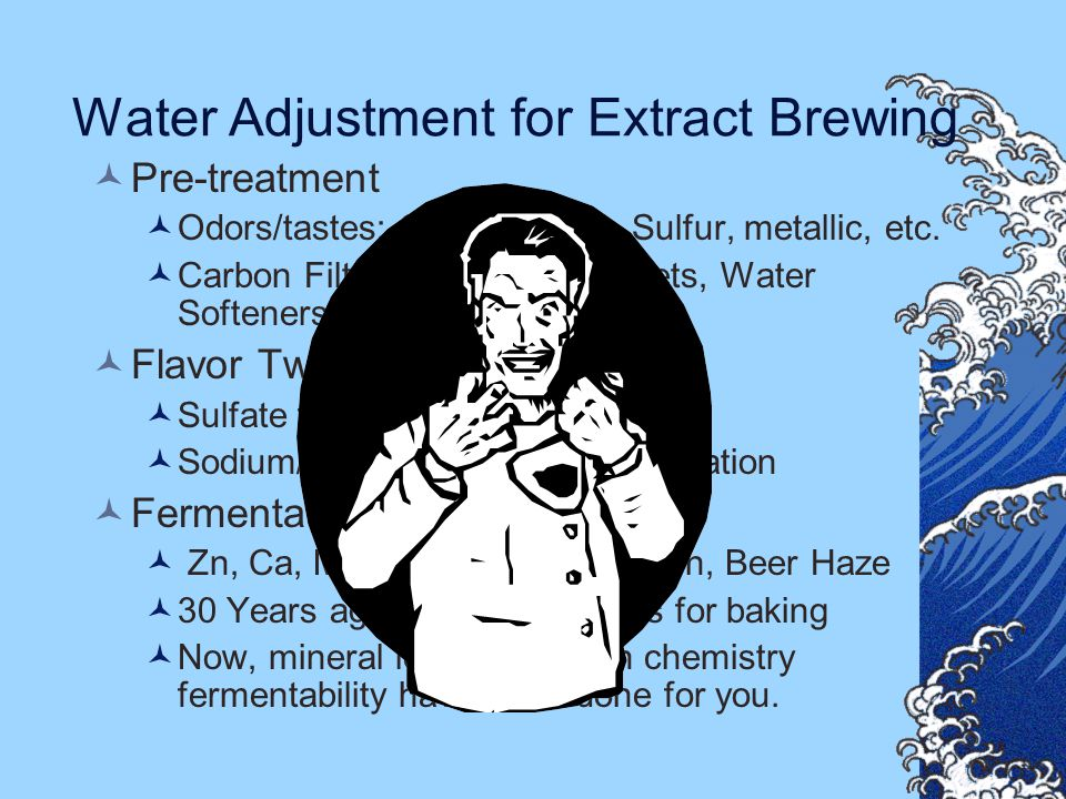 Water Adjustment for Extract Brewing