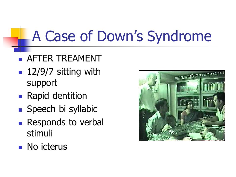 A Case of Down's Syndrome