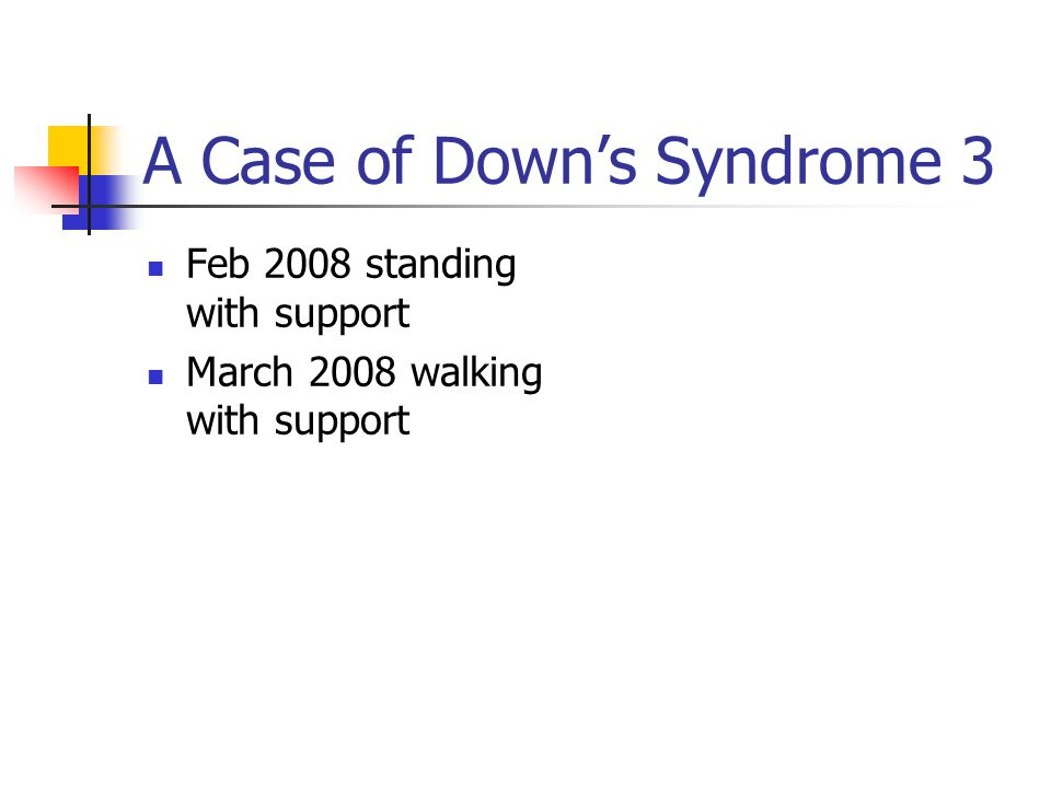 A Case of Down's Syndrome 3