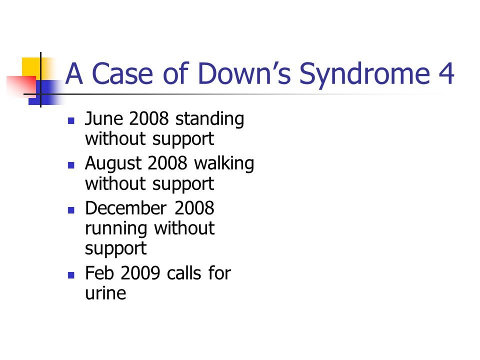 A Case of Down's Syndrome 4