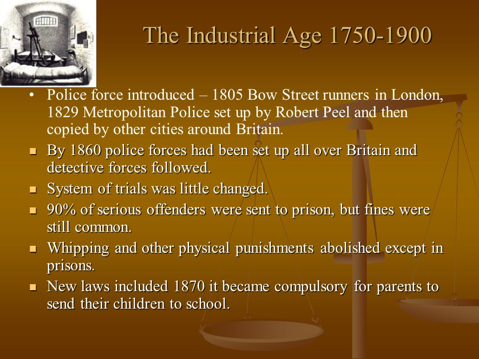 The Industrial Age 1750-1900