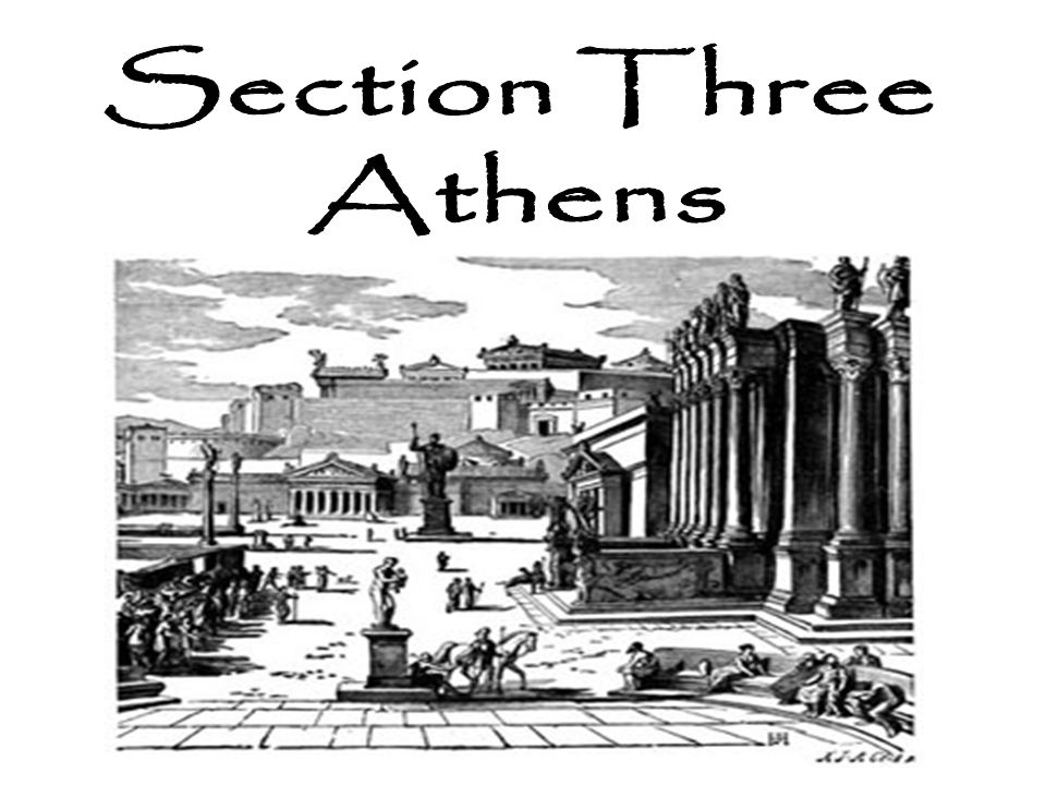 Section Three Athens