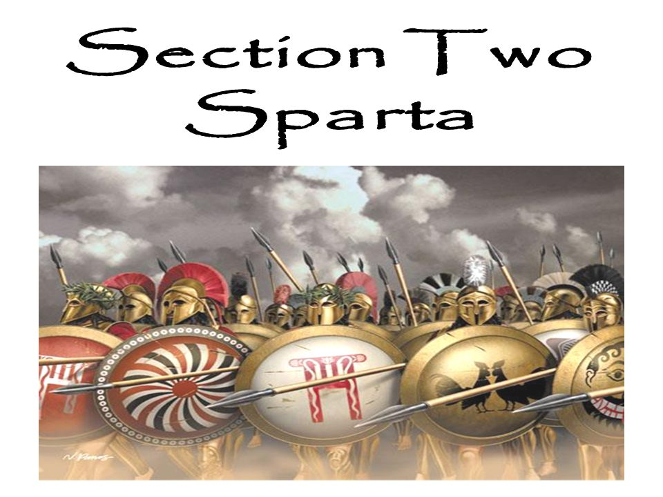 Section Two Sparta