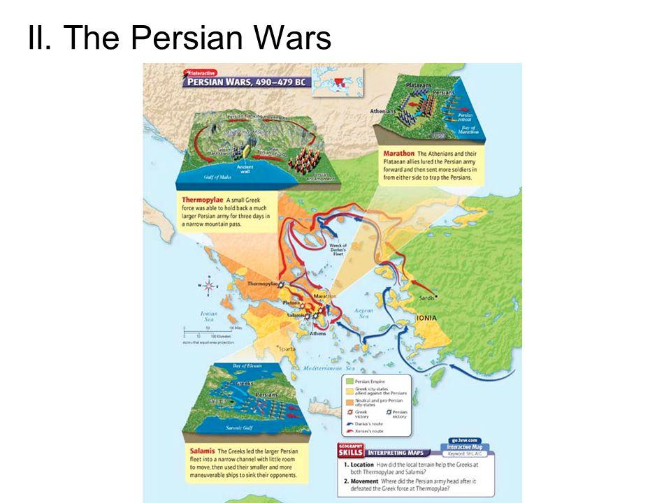 II. The Persian Wars