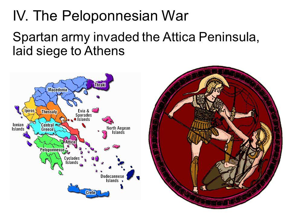 IV. The Peloponnesian War