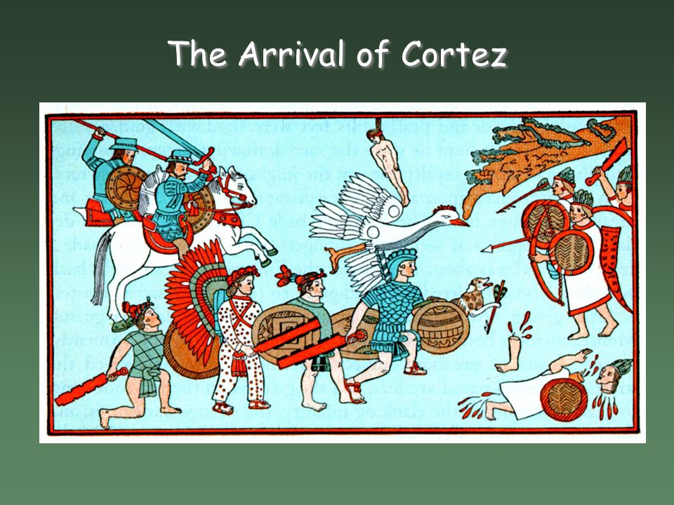 The Arrival of Cortez