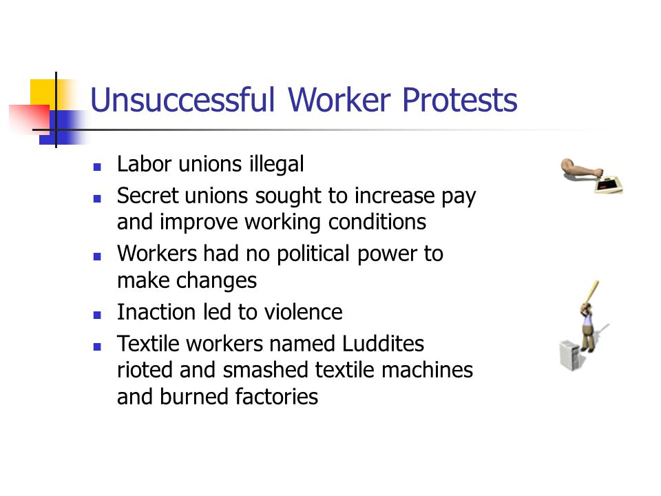 Unsuccessful Worker Protests