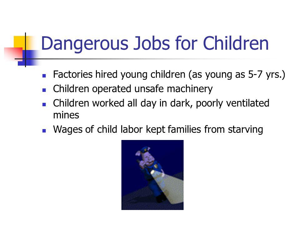 Dangerous Jobs for Children