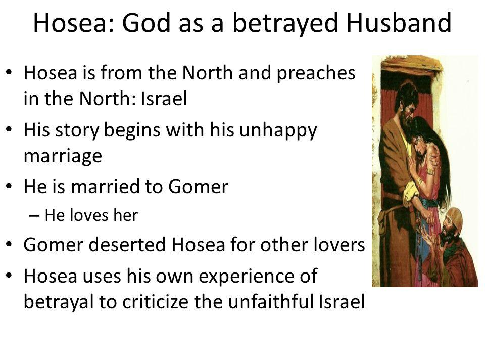 Hosea: God as a betrayed Husband