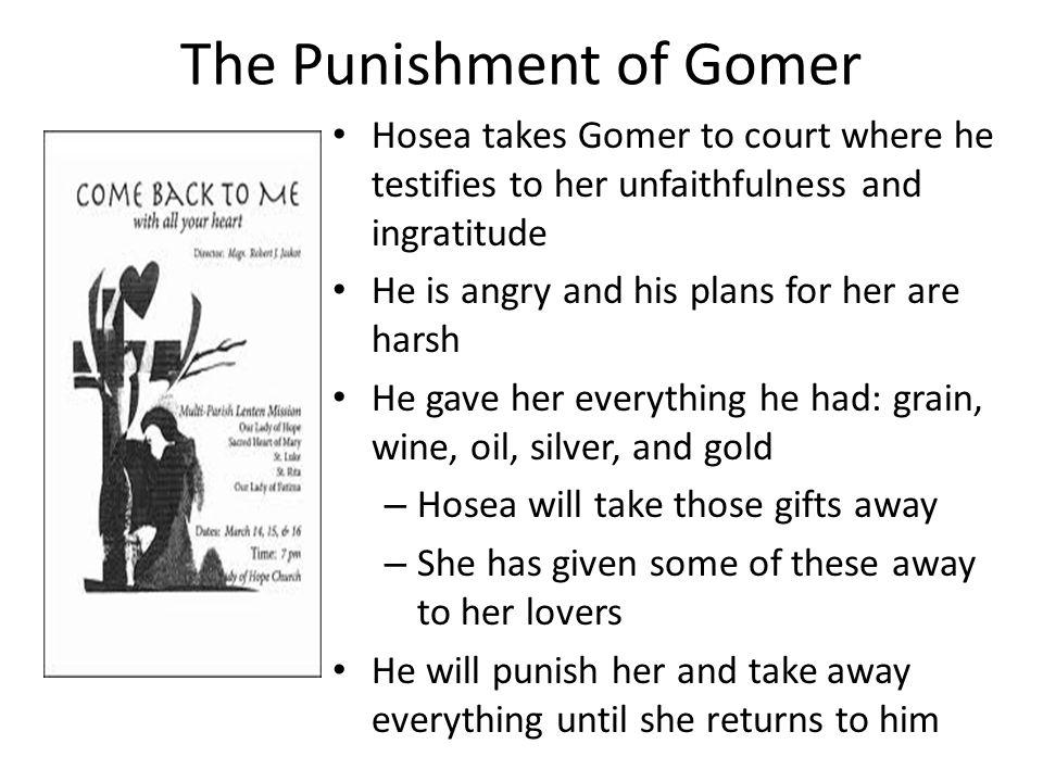 The Punishment of Gomer