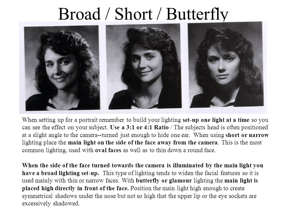 Broad / Short / Butterfly