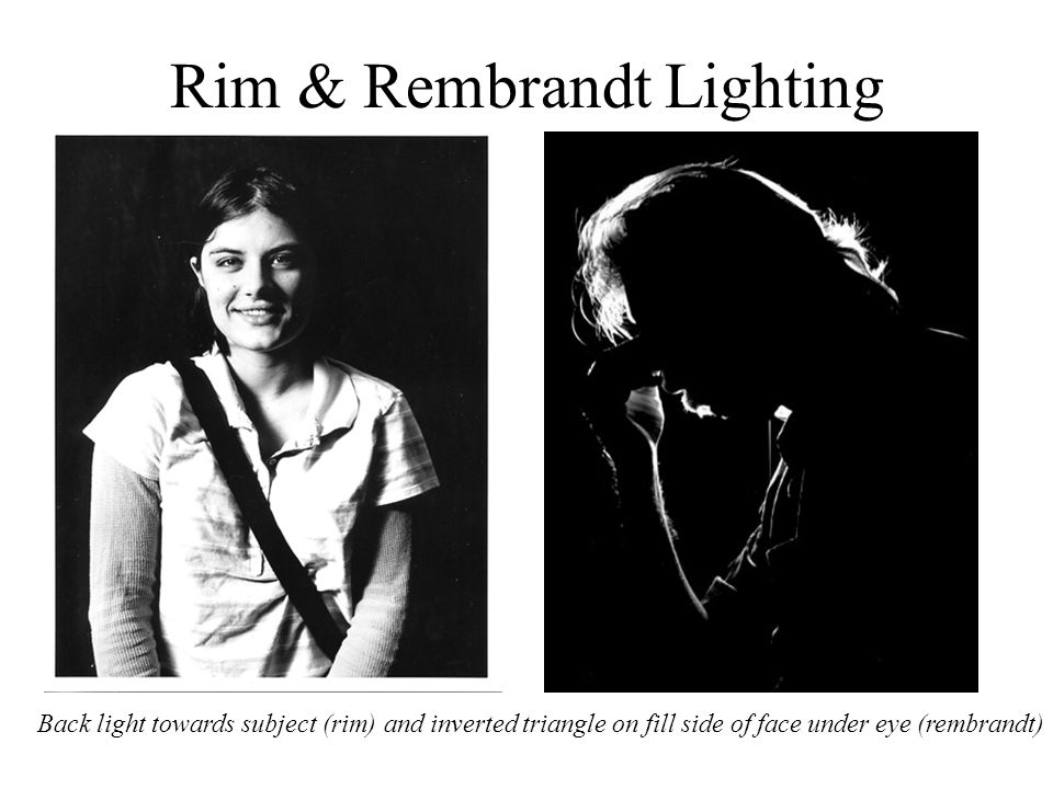 Rim & Rembrandt Lighting
