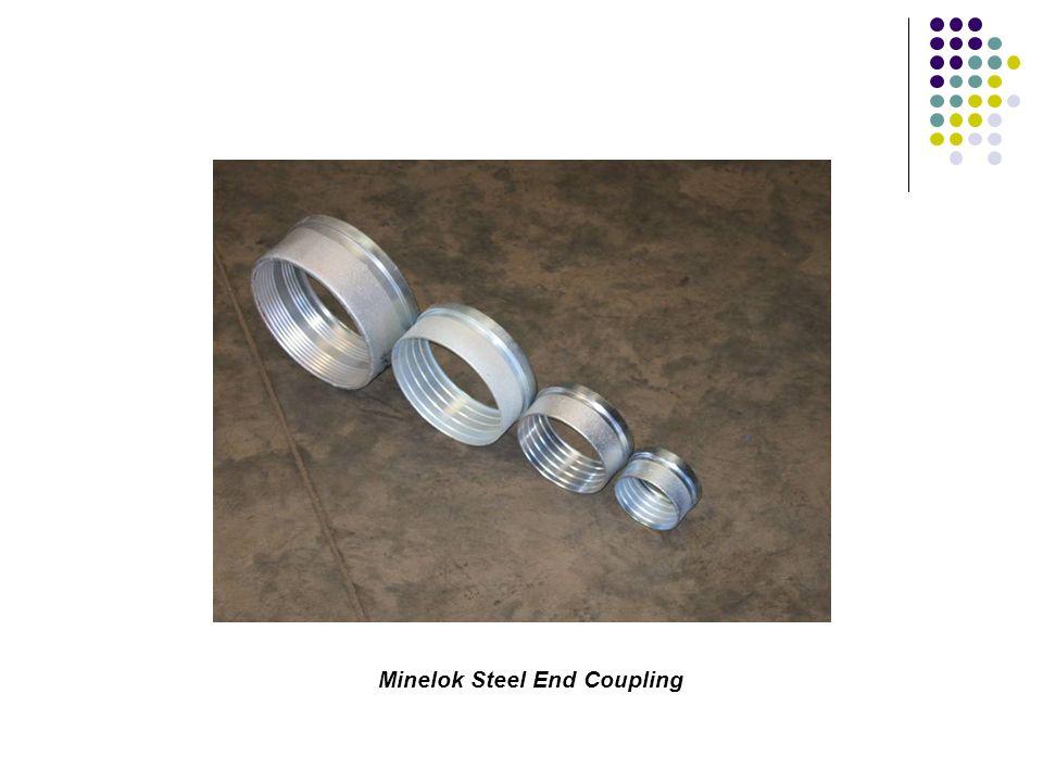 Minelok Steel End Coupling