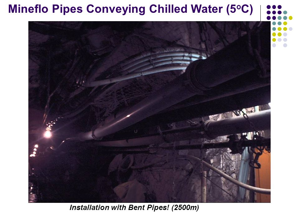 Installation with Bent Pipes! (2500m)