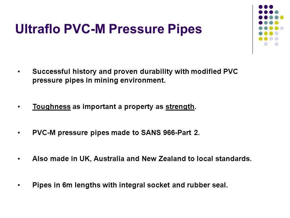 Ultraflo PVC-M Pressure Pipes