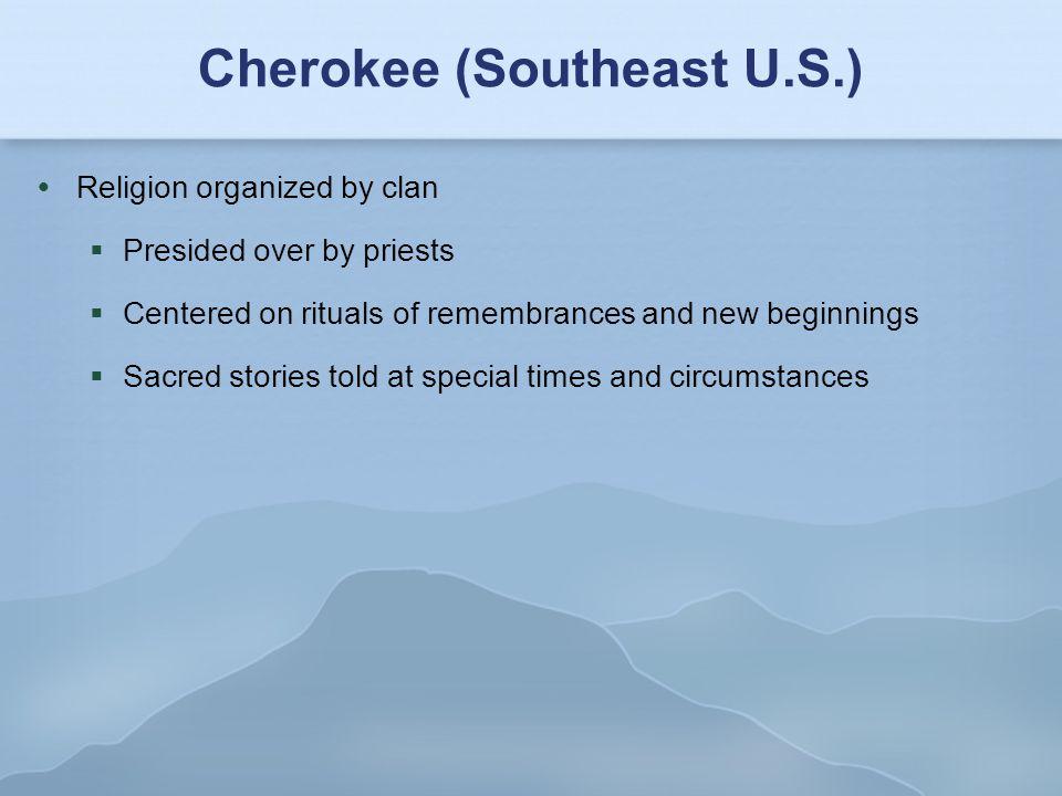 Cherokee (Southeast U.S.)