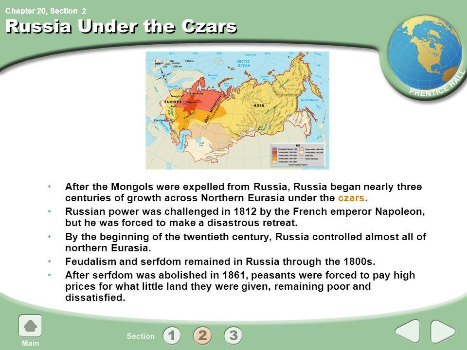 2 Russia Under the Czars.