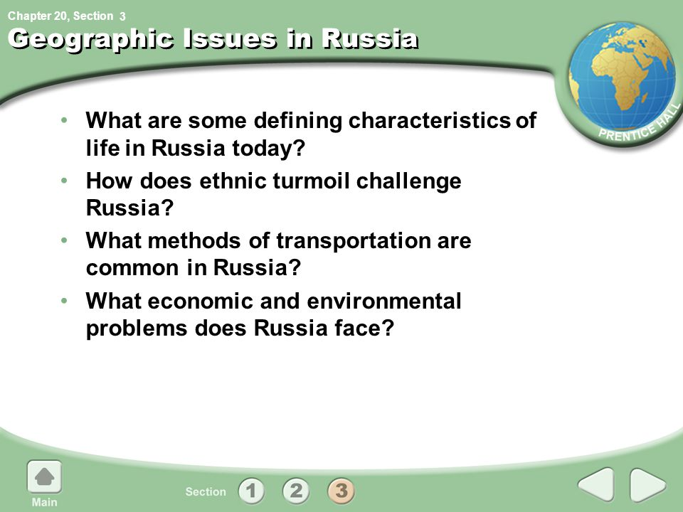 Geographic Issues in Russia