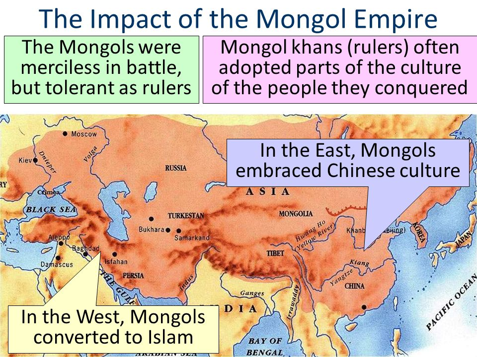 The Impact of the Mongol Empire