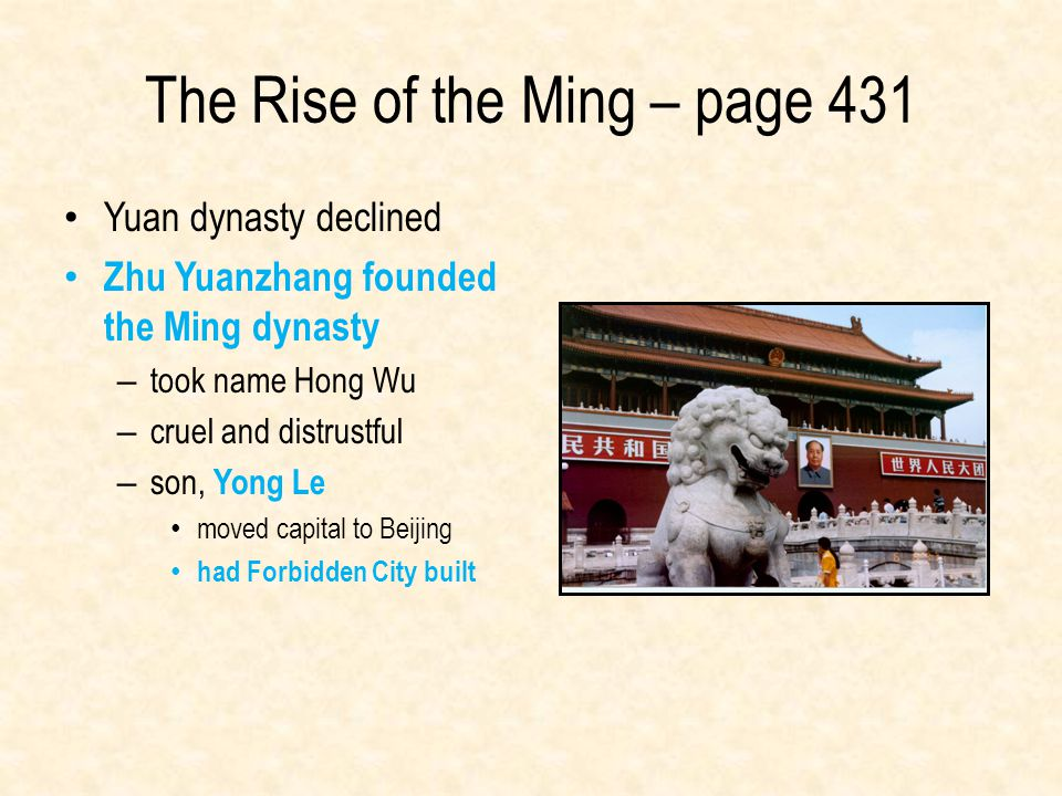 The Rise of the Ming – page 431