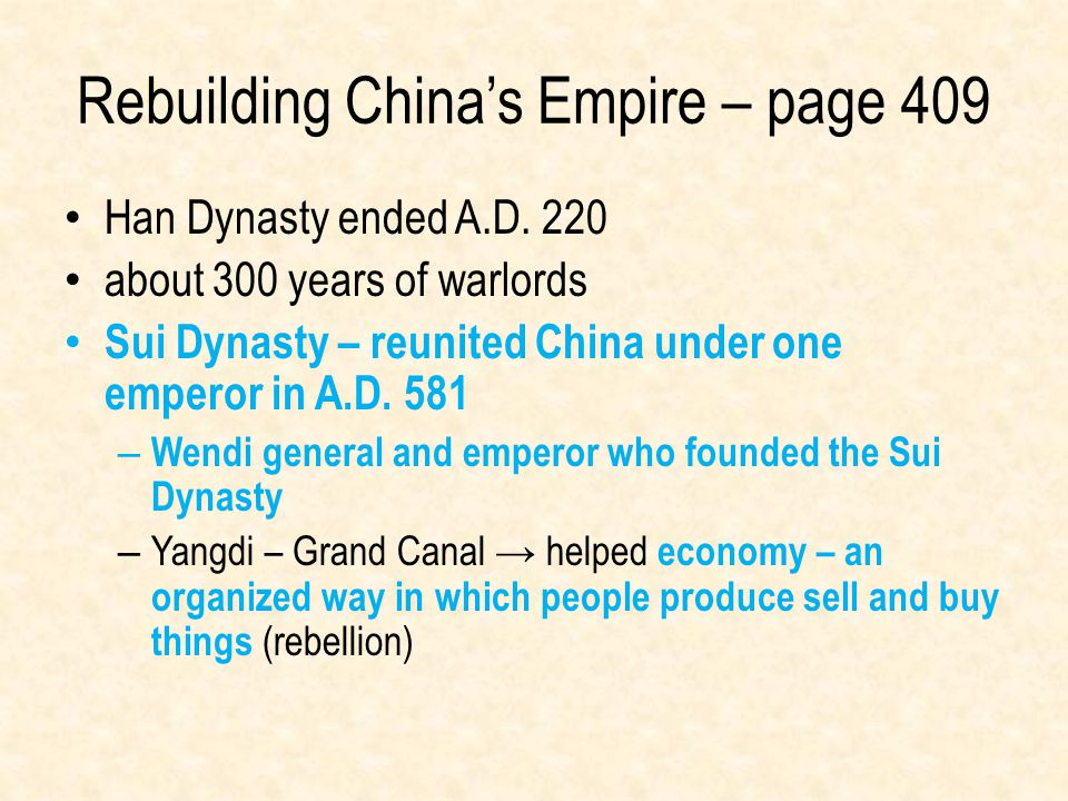 Rebuilding China's Empire – page 409