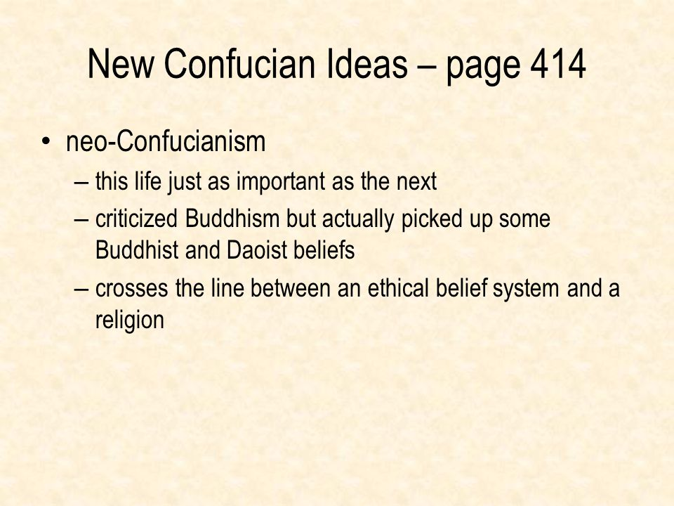 New Confucian Ideas – page 414