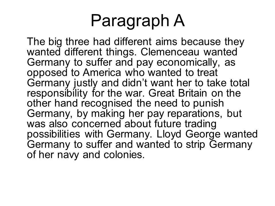 Paragraph A