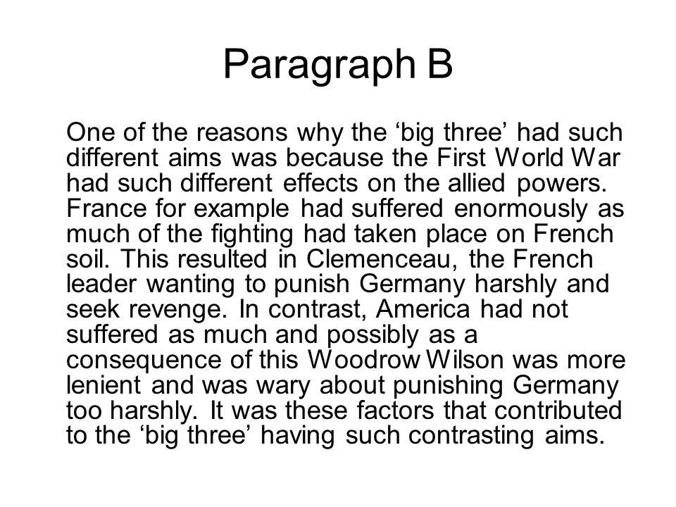 Paragraph B