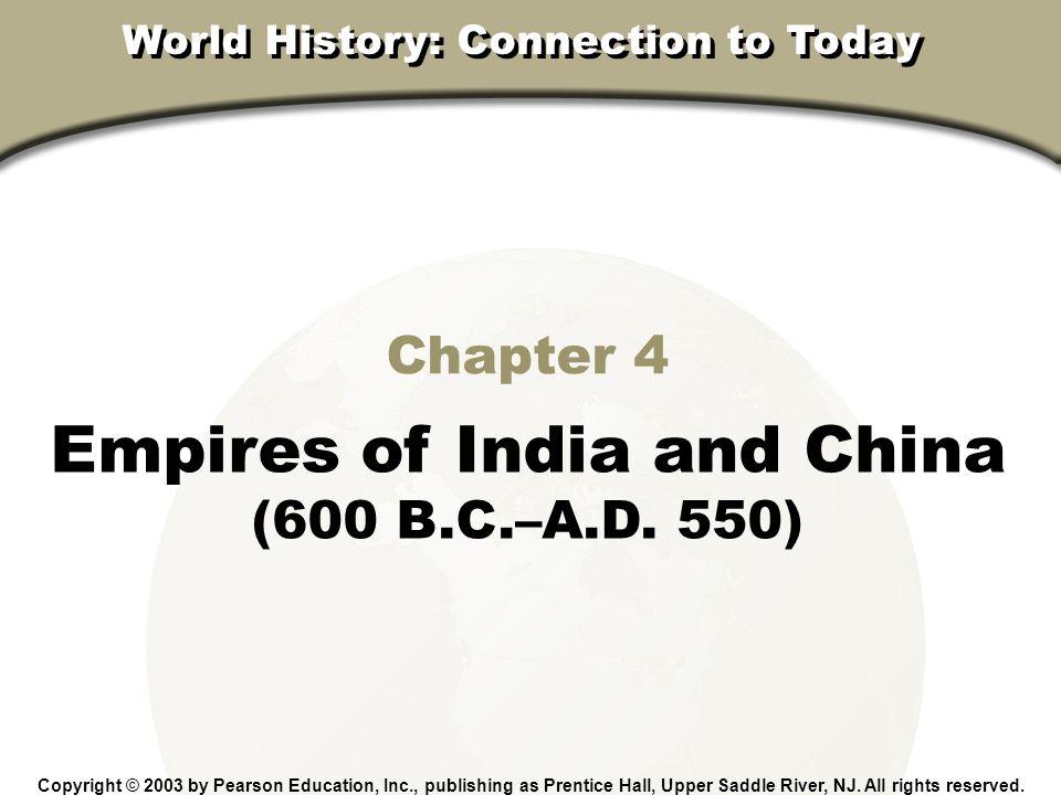 Empires of India and China