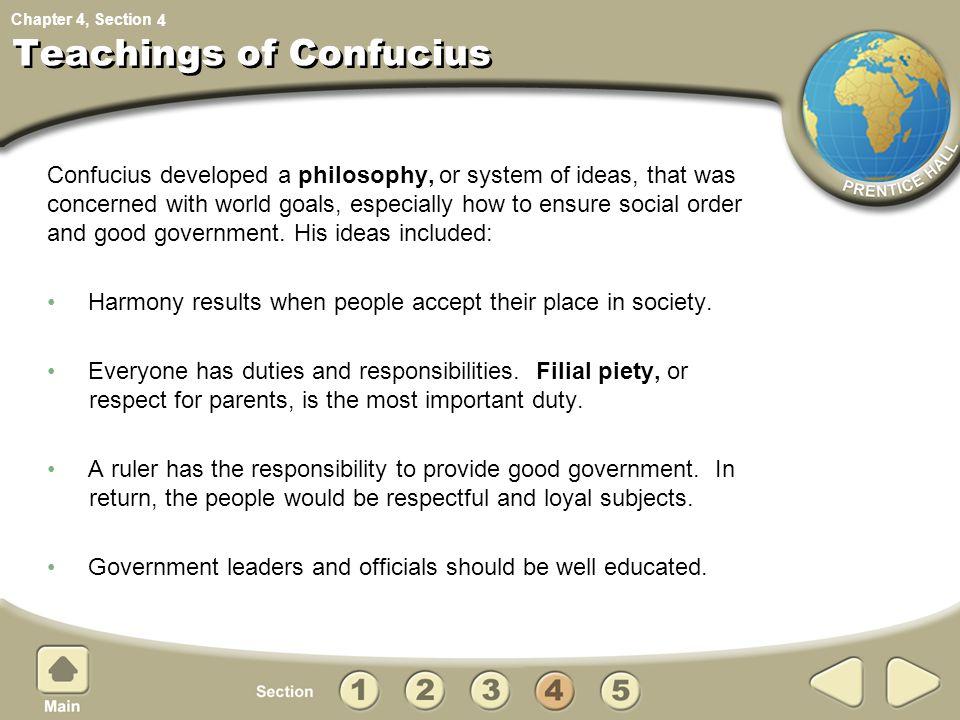 Teachings of Confucius