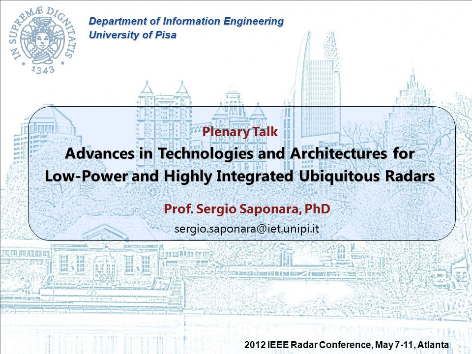 Advances in Technologies and Architectures for