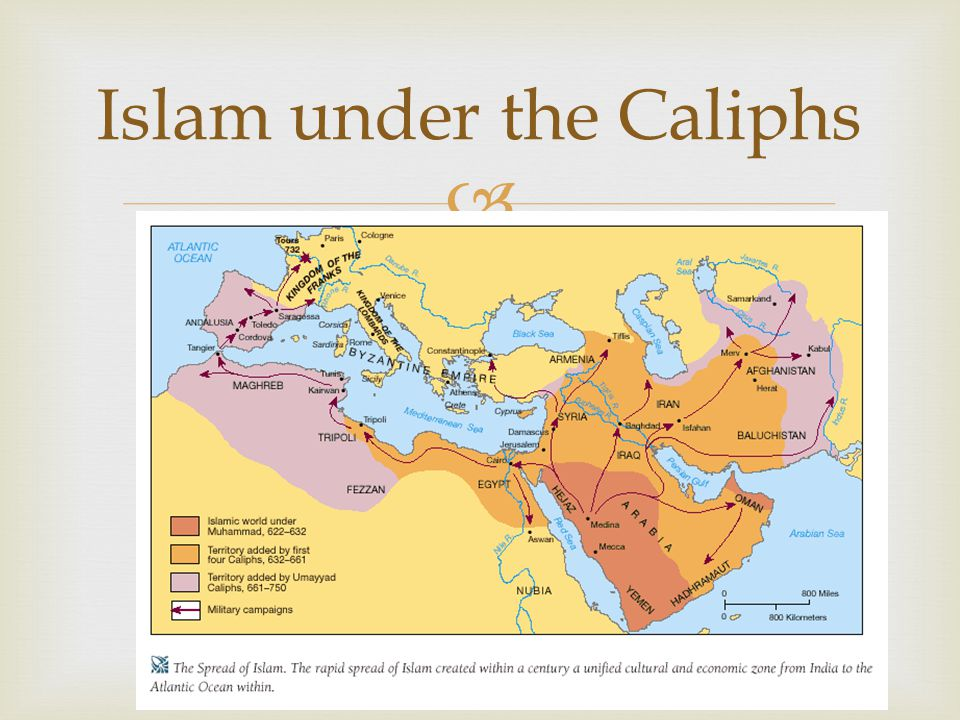 Islam under the Caliphs