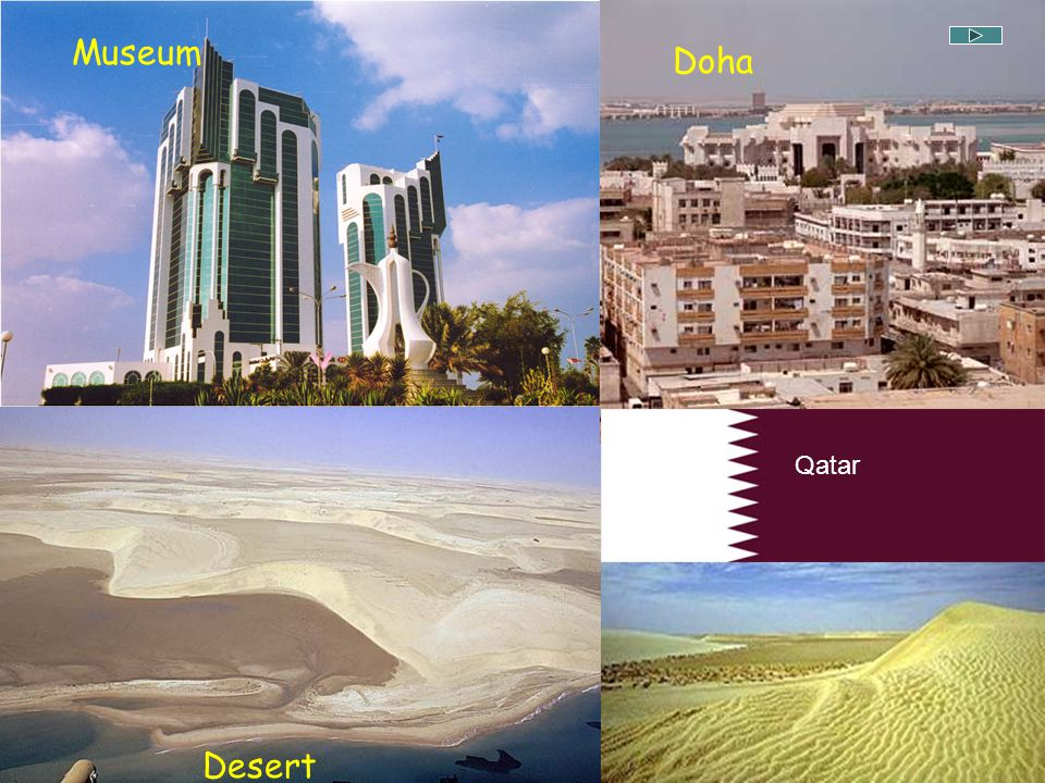 Museum Doha Qatar Desert