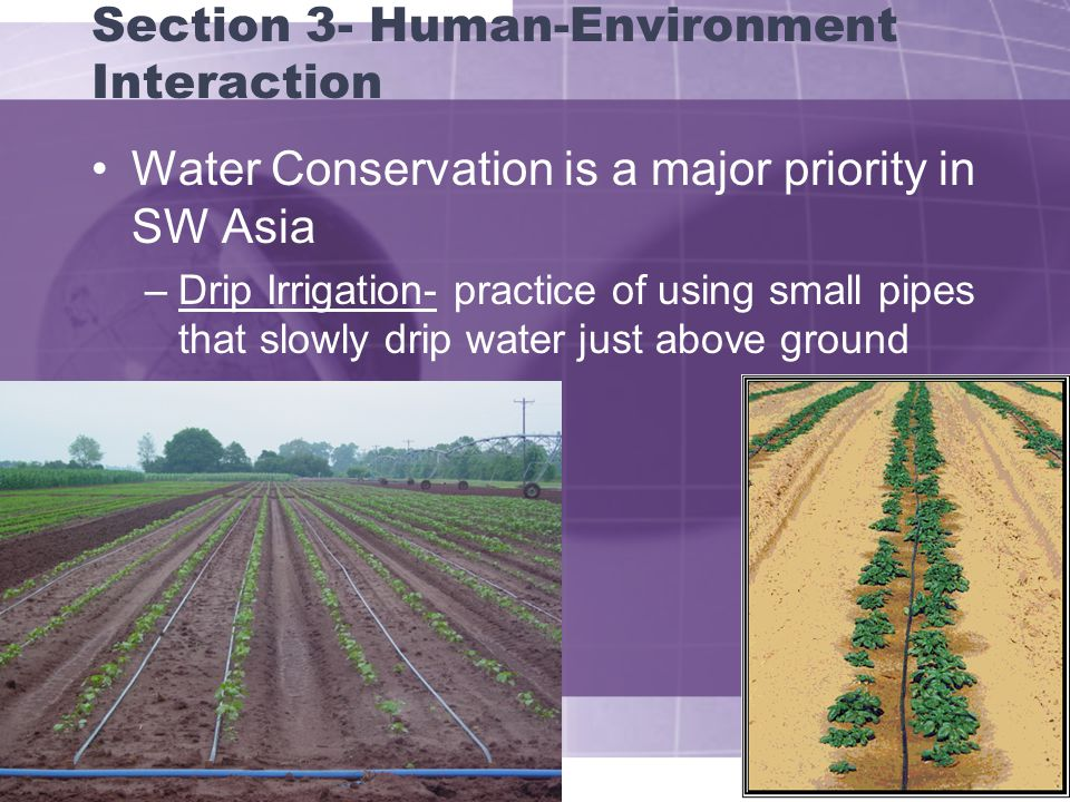 Section 3- Human-Environment Interaction