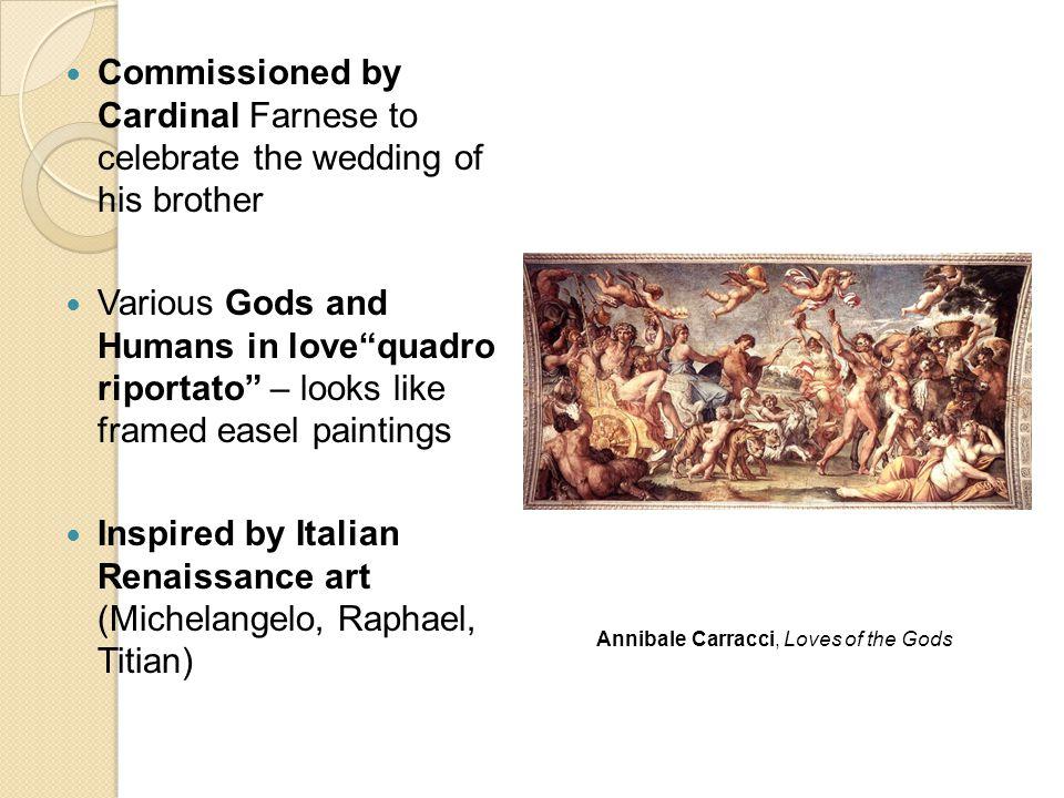 Inspired by Italian Renaissance art (Michelangelo, Raphael, Titian)