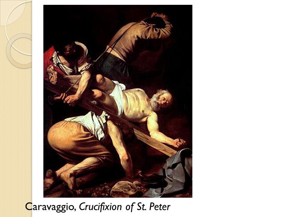 Caravaggio, Crucifixion of St. Peter