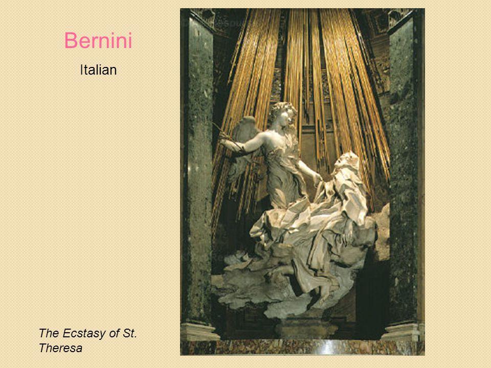 Bernini Italian The Ecstasy of St. Theresa