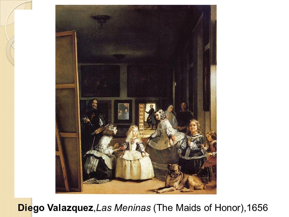 Diego Valazquez,Las Meninas (The Maids of Honor),1656