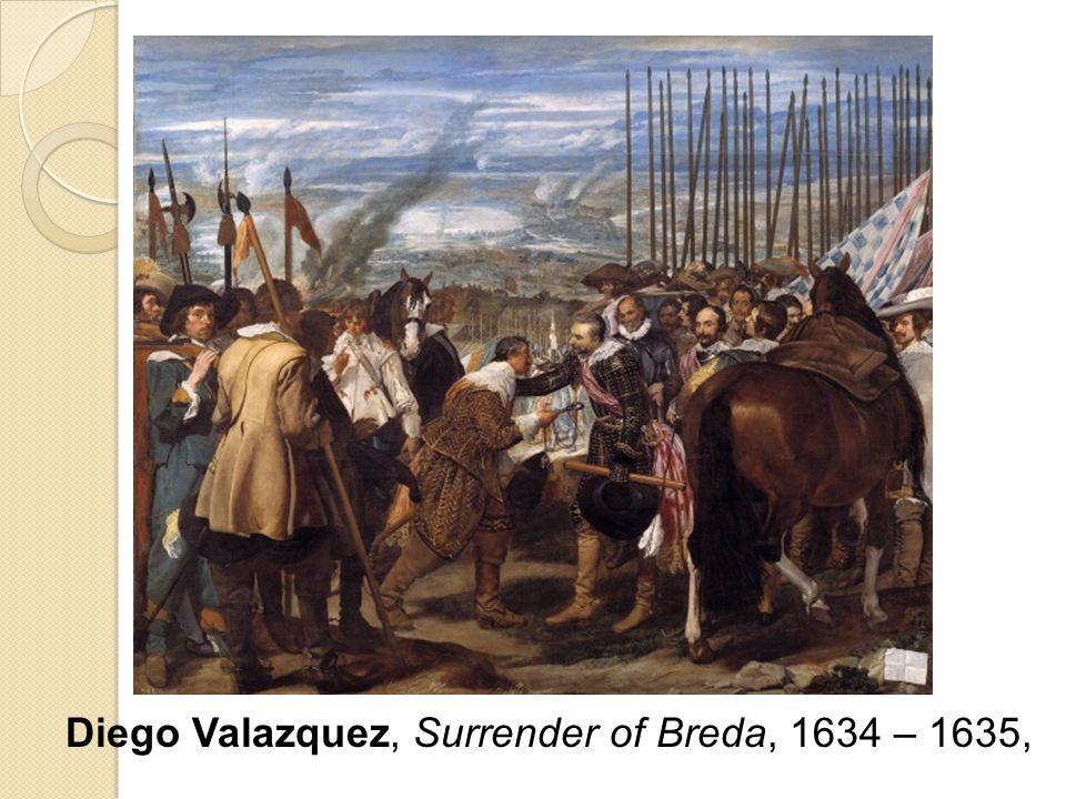 Diego Valazquez, Surrender of Breda, 1634 – 1635,