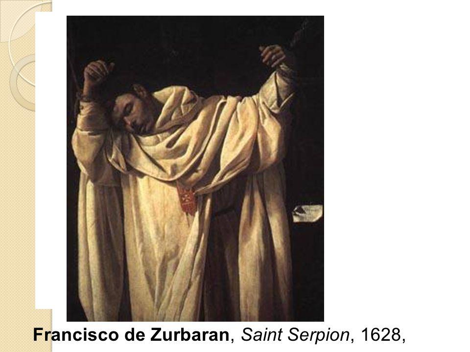 Francisco de Zurbaran, Saint Serpion, 1628,