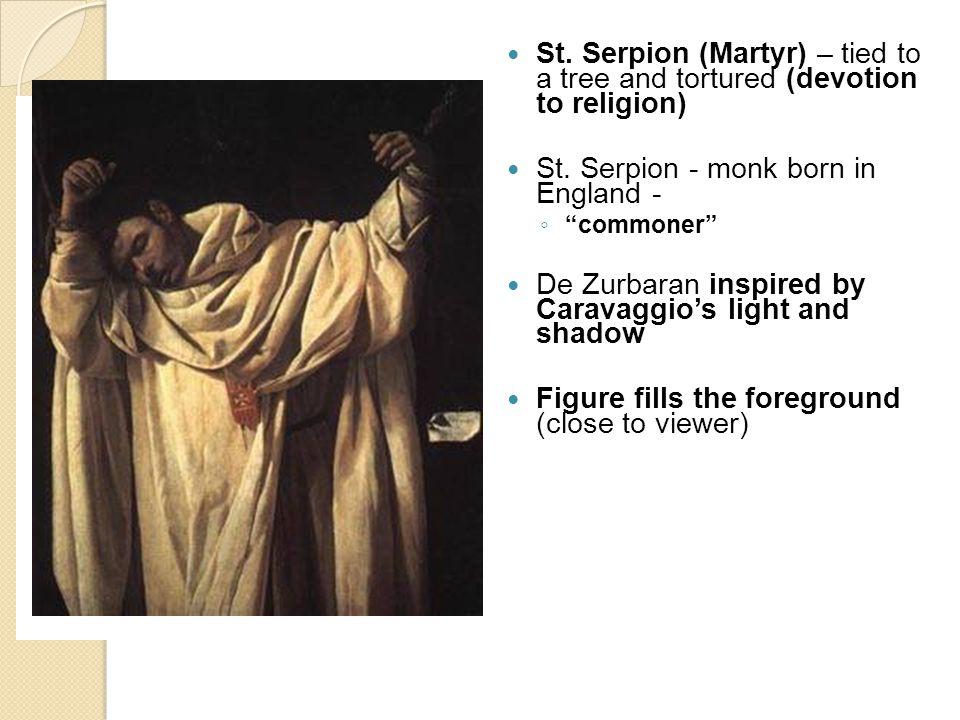 St. Serpion - monk born in England -