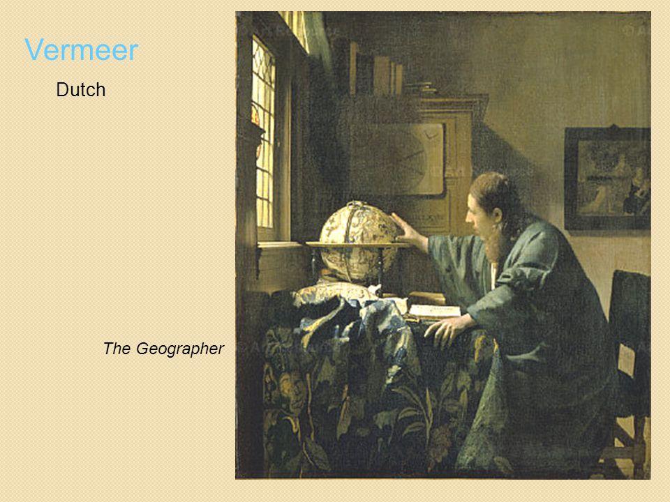 Vermeer Dutch The Geographer