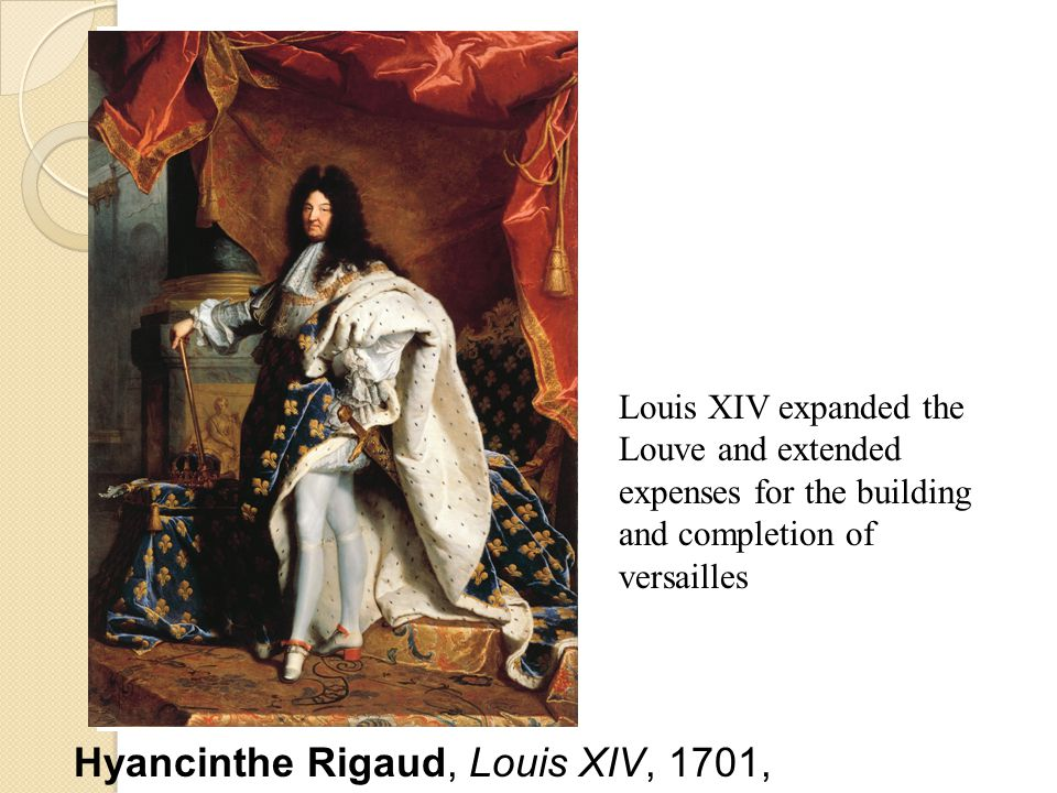 Hyancinthe Rigaud, Louis XIV, 1701,